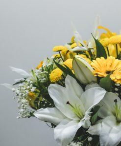 foto detalle flores ramo verano